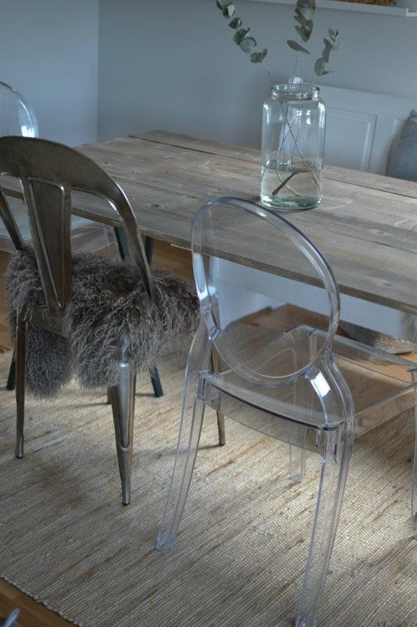 .love ghost chairs maybe for my office