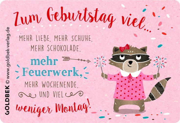 Postkarten - Geburtstag. Handgezeichnete Illustration.