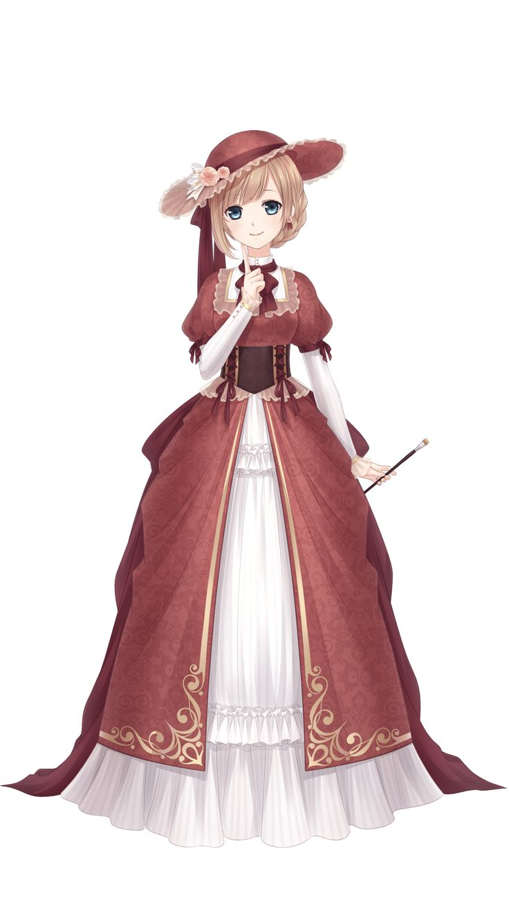 She looks like Liechtenstein from hetalia