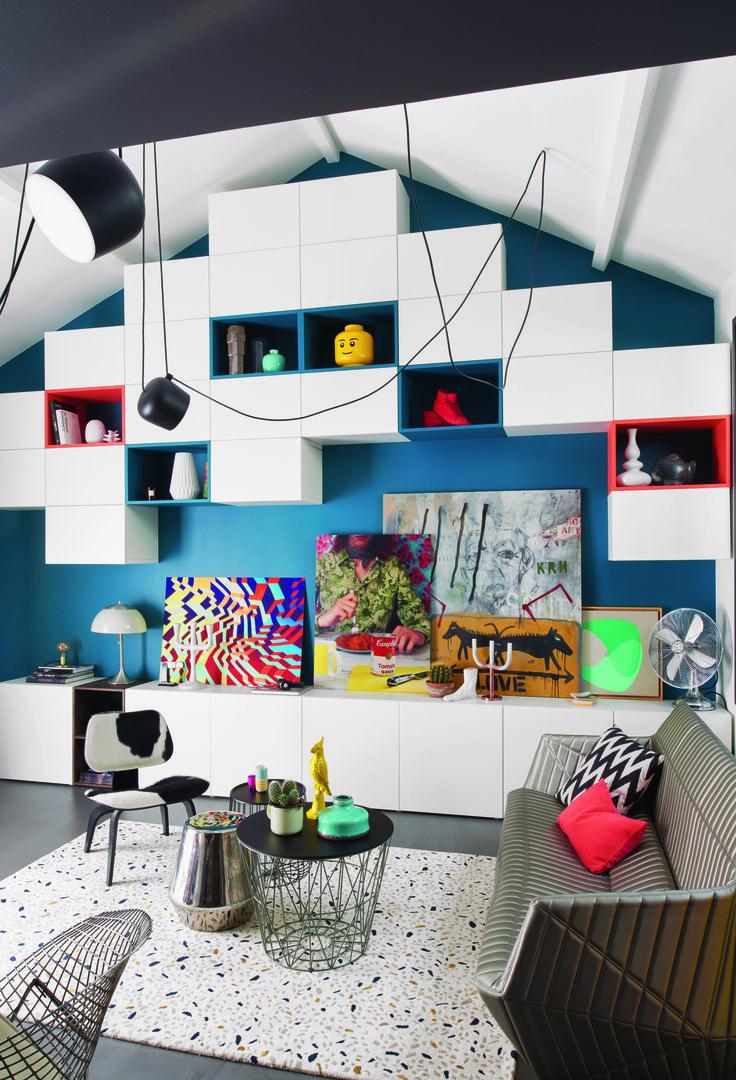Salon Sous Comble. Design Interieur Amnagement De Combles ...