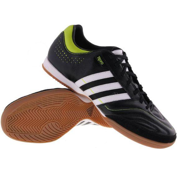 Sepatu Futsal Adidas 11nova Hitam Putih Hijau