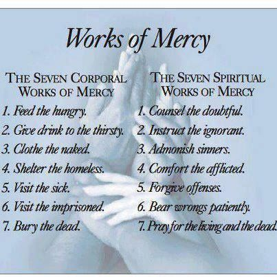 The 7 Corporal & 7 Spiritual Works Of Mercy
