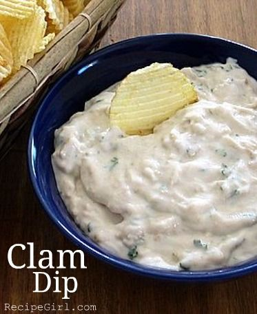 Clam Dip #recipe... a favorite #appetizer for many years now.