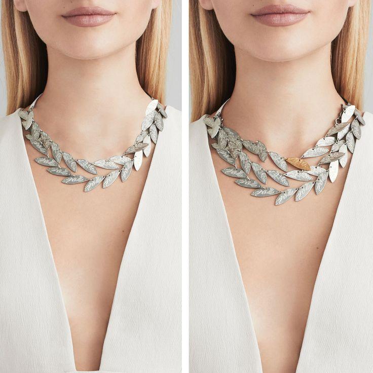 Printemps-Été 2016 Collier Usu (étain, plaqué bronze) === 2016 Spring-Summer Collection Usu necklace (pewter, plated bronze)