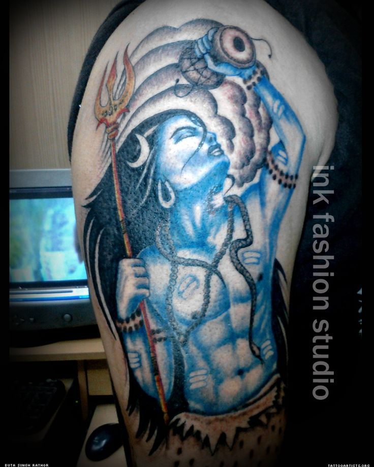 lord shiva tattoo on shoulder tattoos pinterest shiva tattoo tattoo on shoulder and lord. Black Bedroom Furniture Sets. Home Design Ideas