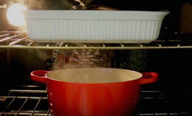 Ξυπνήστε με ένα αστραφτερό... φούρνο!    Καμιά φορά η καθαριότητα θέλει το χρόνο της. Πάρτε για παράδειγμα την καθαριότητα του φούρνου σας στον οποίο αν συσσωρευτούν καμένα λίπη, βάζετε στοίχημα ότι θα χρειαστεί να περάσετε όλη την