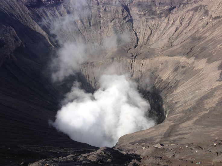 Bromo's Crater - Kawah Bromo - Probolinggo - Jawa Timur - Indonesia