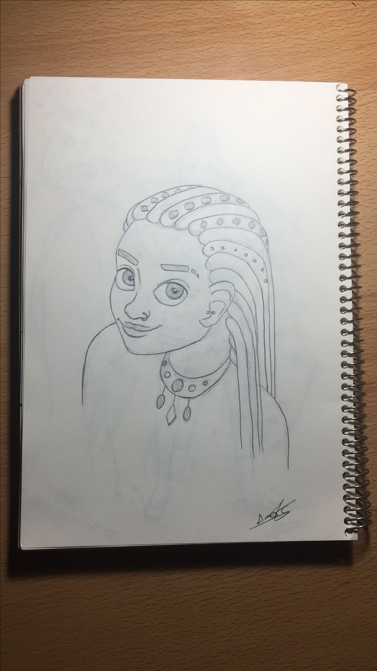 #sketch #tribal #drawing #girl
