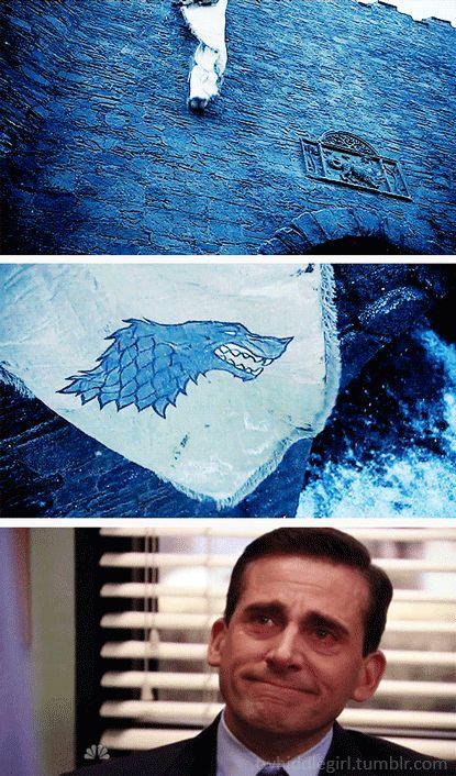 House Stark ~ Game of Thrones ~ Michael Scott