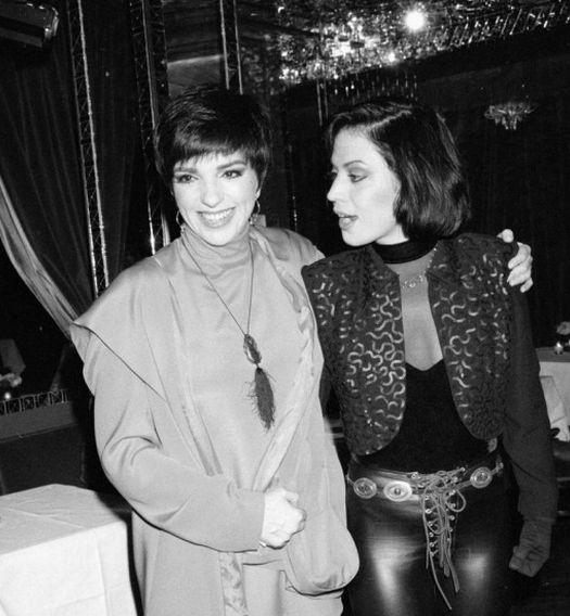 Liza Manelli & Joan Jett.  What the H?