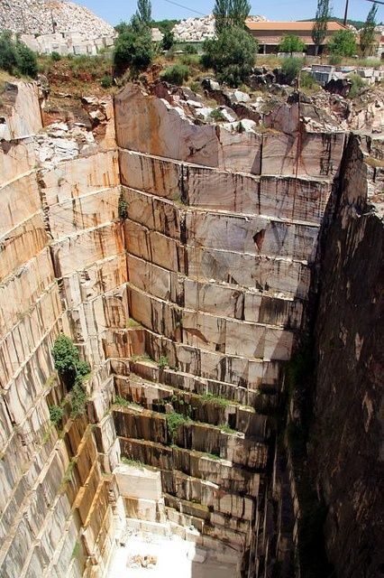 Vila Viçosa , marble quarry, Alentejo, Portugal