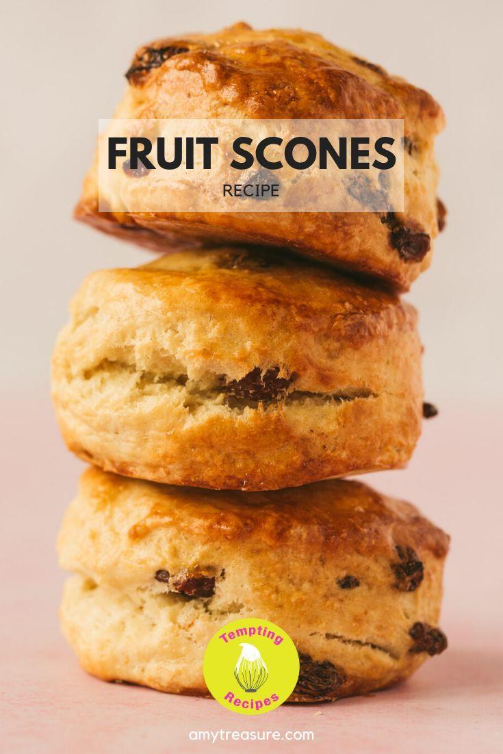 Simply The Best Fruit Scones Recipe Recipe In 2020 Fruit Scones Recipe Fruit Scones Scone Recipe