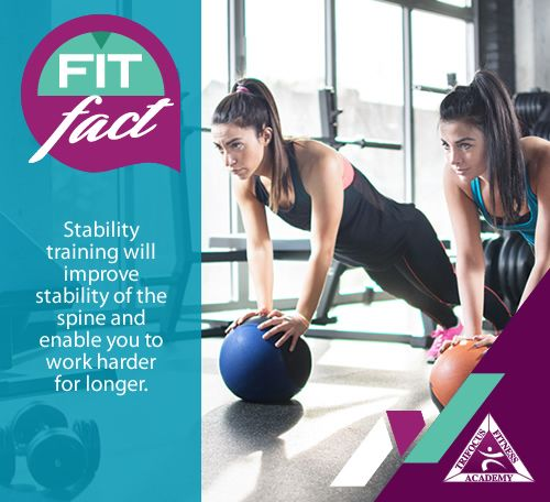 #stabilitytraining #fitfact #ultimate #fitness #wellness #exercise #knowyourfacts #fitfam #push #improve #results #ripped #body
