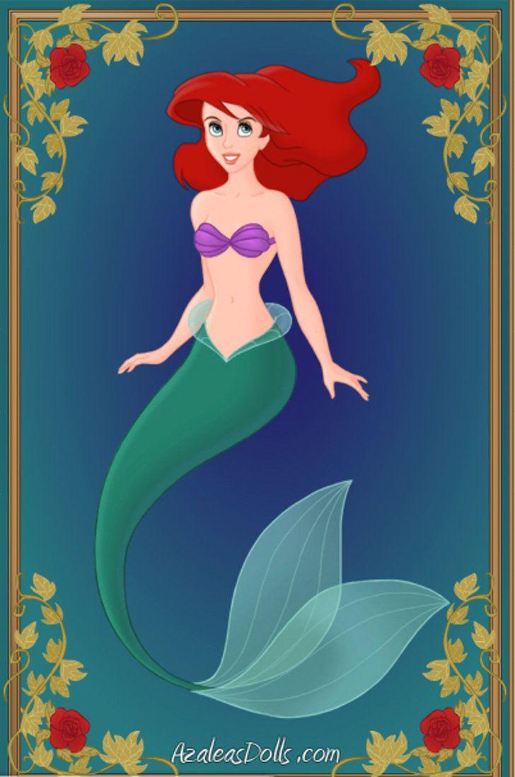 -Ariel- Disney Mermaids by ~WolfsGesang on deviantART