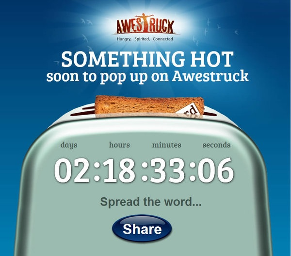 Awestruck Facebook Promotions by Reme Le Hane, via Behance