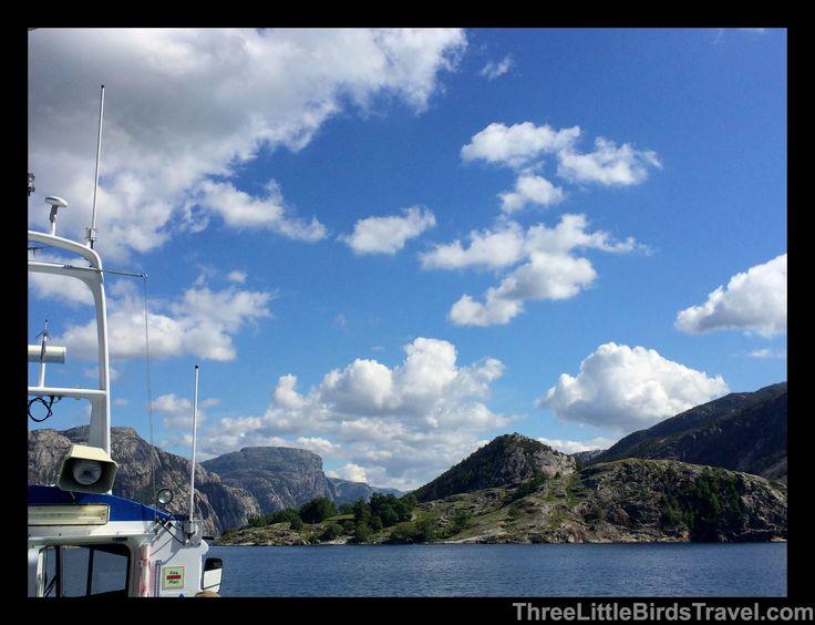 Rodne Fjord Cruise to Pulpit Rock www.threelittlebirdstravel.com