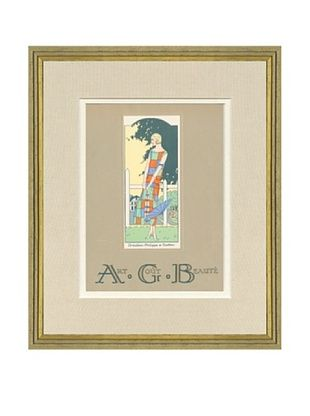 Art Gout Beaute Fashion Illustration Cover from July 1924