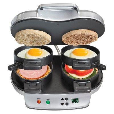 Hamilton Beach Double Breakfast Sandwich Maker- 25490