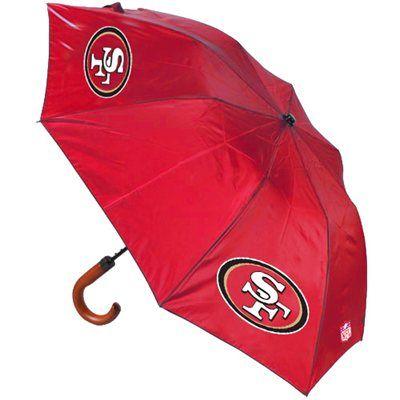San Francisco 49ers Game Day Umbrella - Scarlet