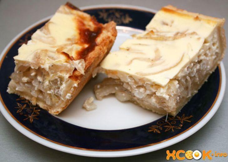 как приготовить шотландский луковый пирог