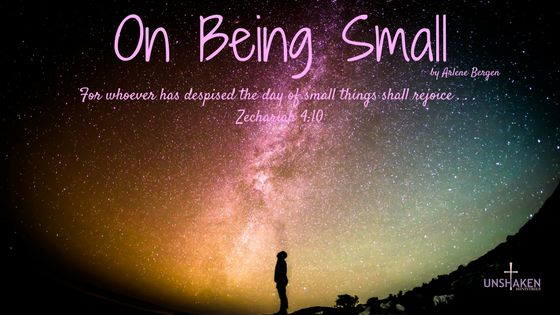 The hope for small people living in a big world is an even bigger God! #beingsmall #bigviewbigGod #bigGod #storyofmylife #livewell #HISstory #ordinarylifeextraordinaryGod #ordinarybecomesextra #livinglarge #eyeswideopen