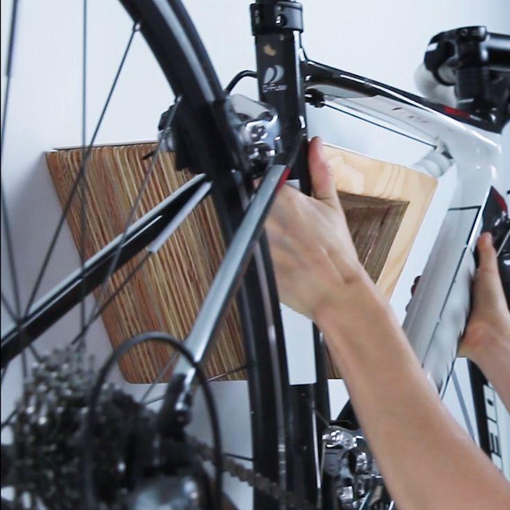 custom modern bike rack