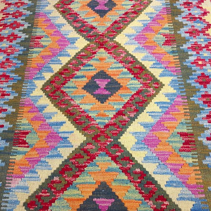Just in: We've just received a fresh shipment of brightly coloured vegetable dye kilims!  Available for viewing at our #Rozelle warehouse.  #bright #colourful #vegetabledye #kilims #bohemian #bohemianstyle #interiordesign #homedecor #sydneyinteriors #interiors #decor #designer #design #sydney