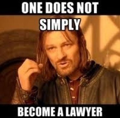 Roadmap to become a lawyer?