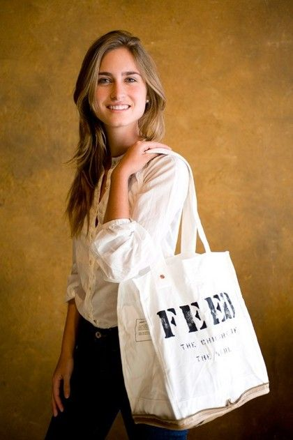 get your hands on a limited FEED bag from holts. proceeds go to FEED project headed by Lauren Bush.