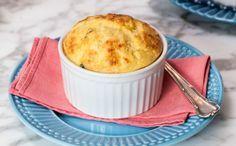Suflê de frango sem farinha é a dica da Rita Lobo para uma refeição completa!