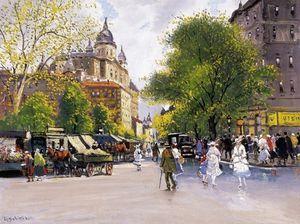 Budapesti Utca - (Antal Berkes)
