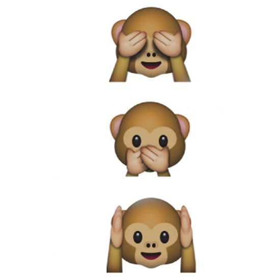 Monkey Emojis ♡ Schlafende Tiere Und Tiere