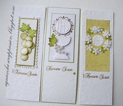 First Holy Communion cards....by Agnieszka