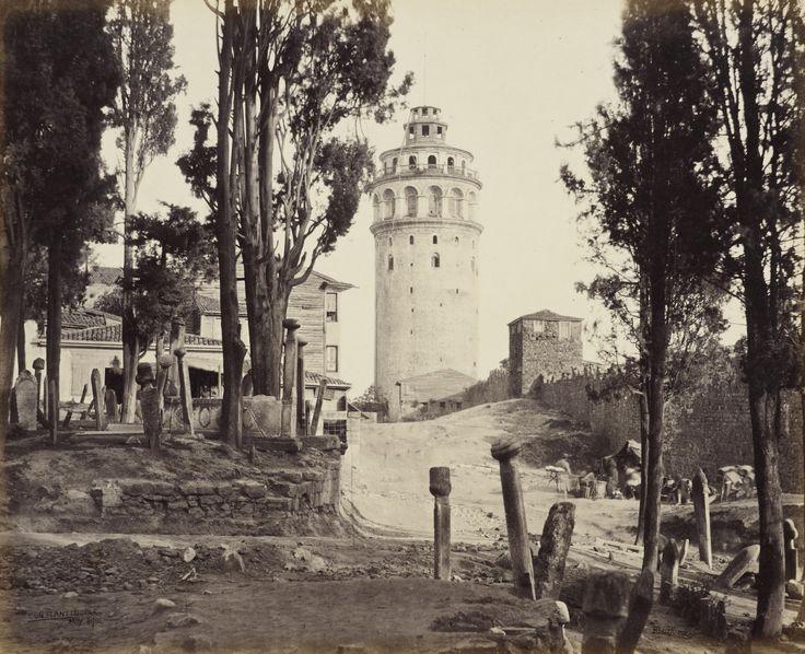 Galata KulesiFrancis Bedford / 21 Mayıs 1862