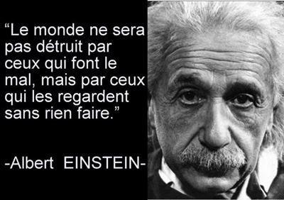 Albert Einstein - Citation