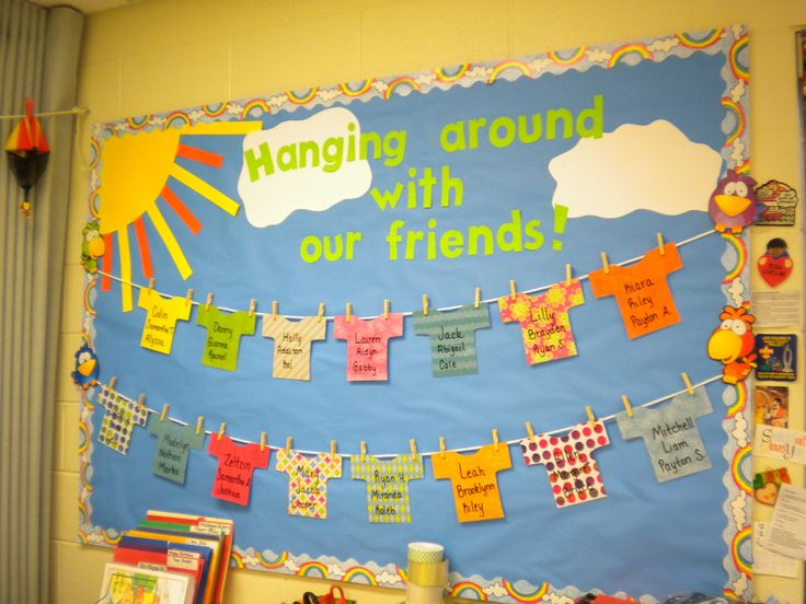 fall bulletin board ideas for preschool | Bunches of Bulletin Boards | Preschool PlayTime