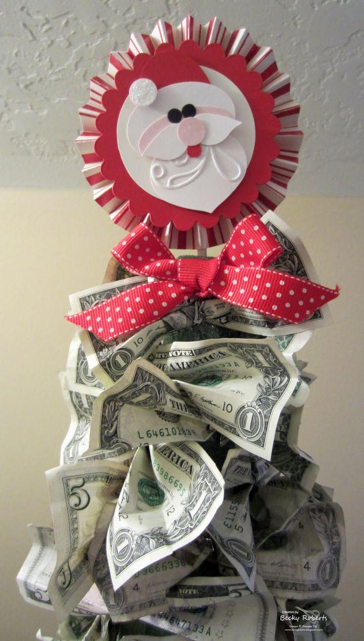 Money Christmas Tree Origami