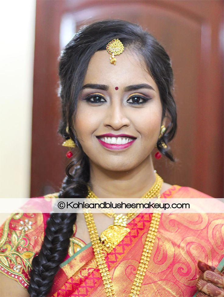 Flawless base with a winged eyeliner, bright lips and fish tail braid worked so beautifully for her. Wish you a happy married life Taniga! ‪#‎chennaimakeupartist‬ ‪#‎makeupartistchennai‬ ‪#‎bridalmakeupchennai‬ ‪#‎bridalmakeupartistchennai‬ ‪#‎southindianbride‬ ‪#‎shielaarvind‬ ‪#‎kohlsandblushesmakeup‬ ‪#‎toofaced‬ ‪#‎toofacedcosmetics‬ ‪#‎toofacedmeletedberry‬ ‪#‎chennaimakeupartistshielarvind‬ ‪#‎maccosmetics‬ ‪#‎fishtailbraid‬ ‪#‎stunningbride‬ ‪#‎makeupgeekeyeshadow‬