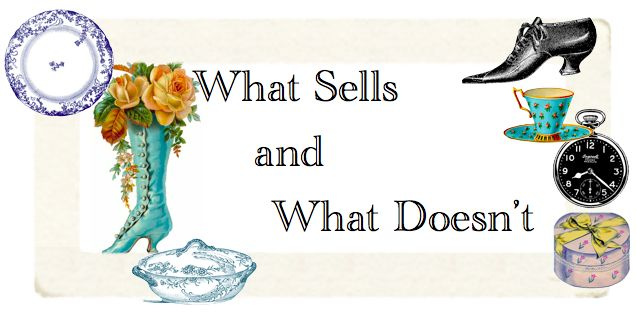 "The Polka Dot Closet: Announcing A New Series ""What Sells and What Doesn't: Antiques Booth in Orlando, Florida"""