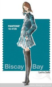 Fall 2015 - fashion colors: Biscay Bay