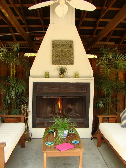 Build your own outdoor fireplace | Outdoor Spaces | Pinterest on Building Your Own Outdoor Fireplace id=42296