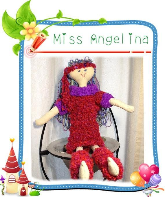 Miss Angelina is ready for the Tea Party 18 Handmade