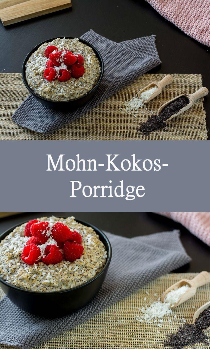 Poppy Seed Coconut Porridge – gesundes Frühstück, zuckerfrei, cremig lecker – die …   – Breakfast