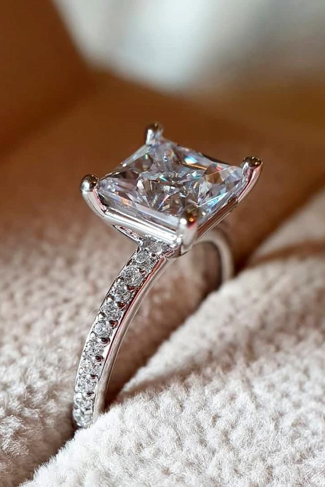 Simple Engagement Rings For Girls Who Love Classic ★ #engagementring #proposal