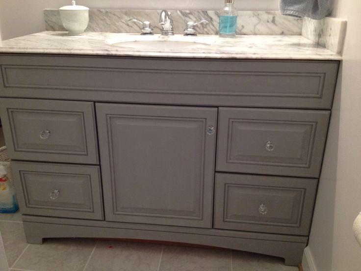 Annie sloan chalk paint bathroom vanity