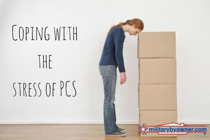 Moving is tough for anyone, but military moves have little nuances that can really drive you crazy. Try these tips for coping with PCS stress.