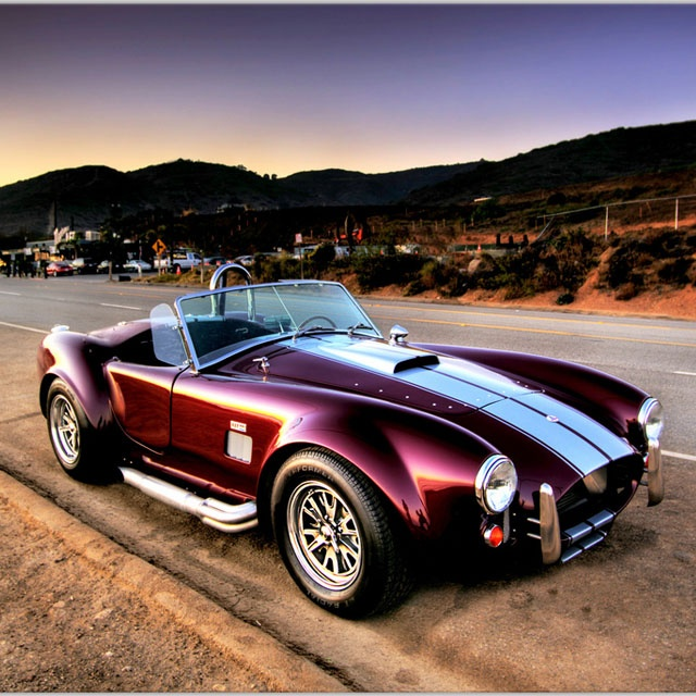 Ford AC Shelby Cobra....because this is what Andy wants!!