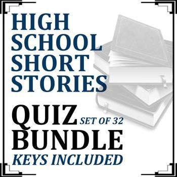 If you need to develop a short story unit for your high school English course and need resources to measure reading comprehension and promote student accountability, this resource is for you. This file contains 32 quizzes and answer keys. As of July 2017, the file also contains an editable 87-question unit test and answer