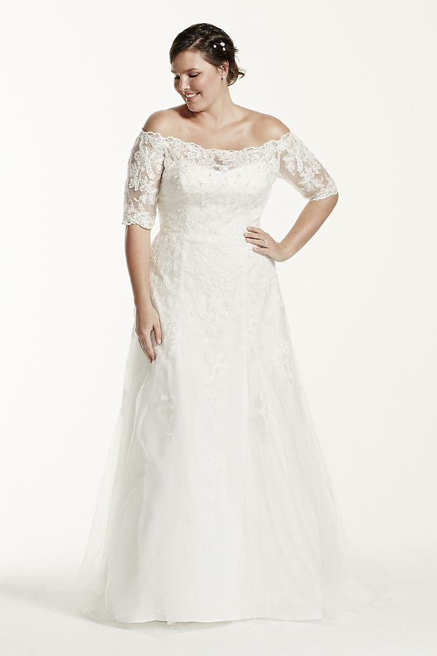 asis 34 sleeve plus size wedding dress style ai12330010