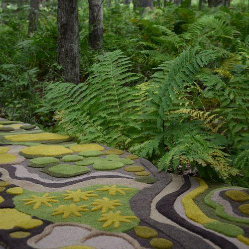 Outdoor rug ~ Angela Adams
